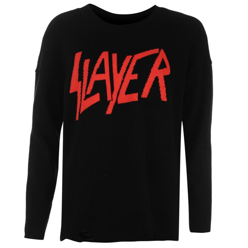 Svetr Iron Fist Torn Sweater Ladies Slayer