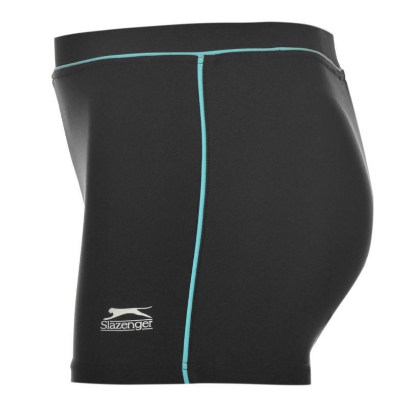 Plavky Slazenger Swim Boxer Trunks Infants Black