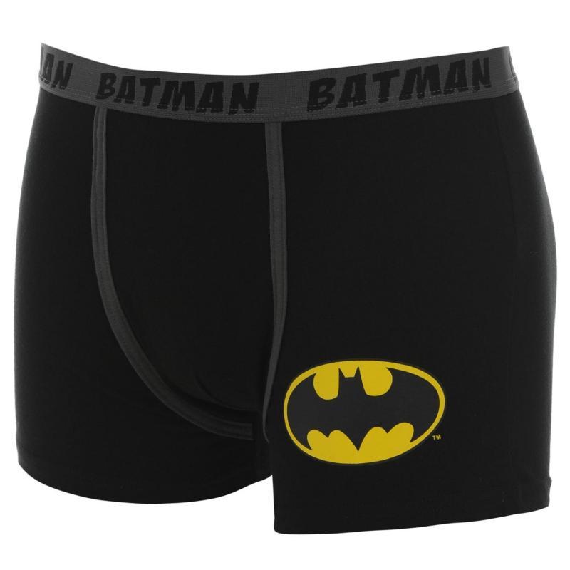 Spodní prádlo DC Comics Batman Single Boxers Mens Black