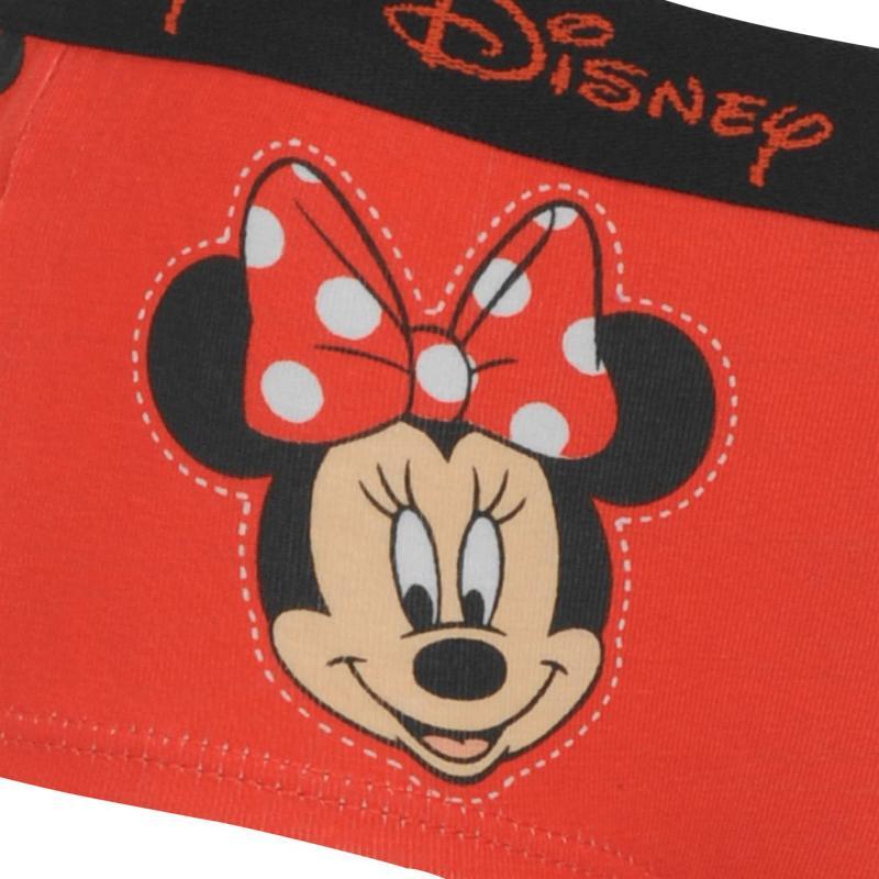Disney Single Boxer Briefs Girls Minnie