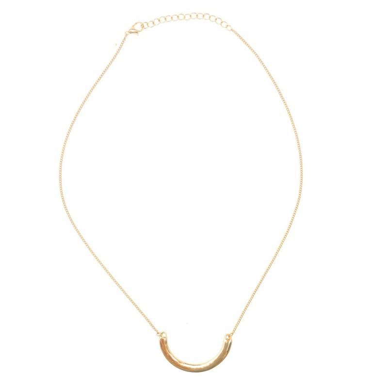 Miso Necklace Ladies Semi Circle