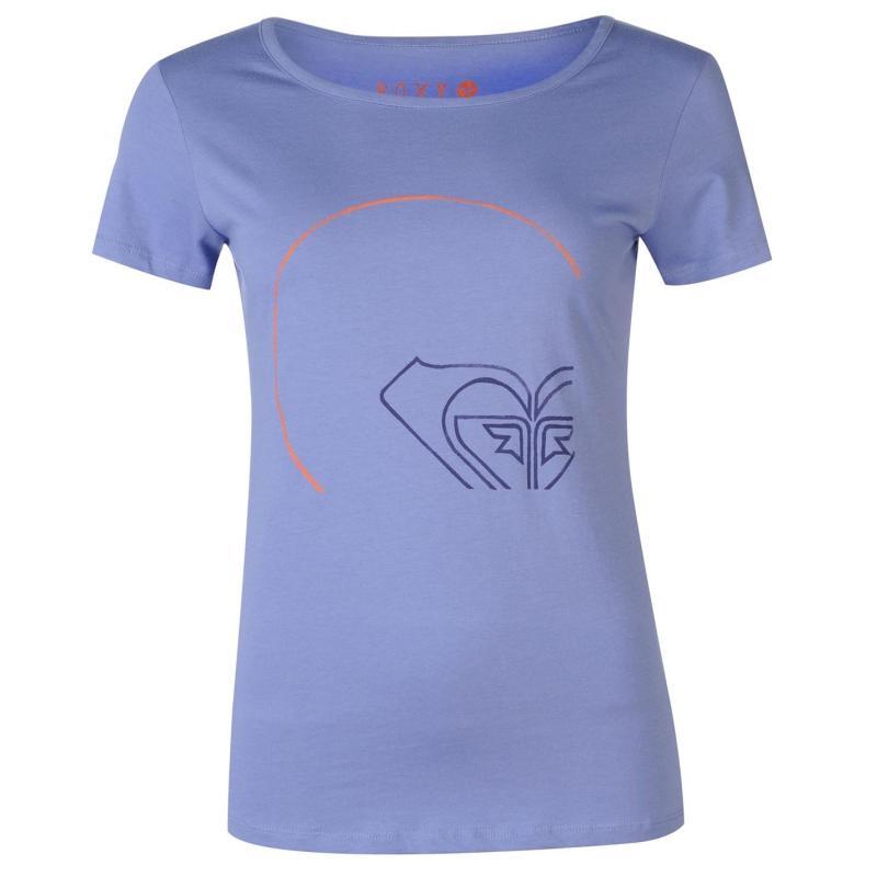 Roxy Take Away T Shirt Ladies Blue
