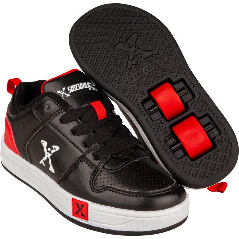 Boty Sidewalk Sport Street Childrens Black/Red