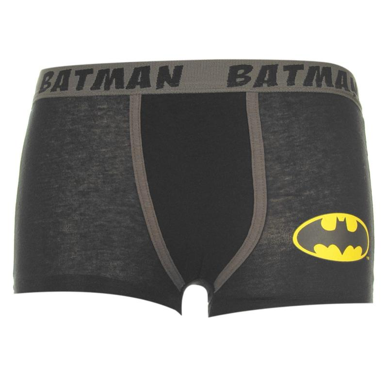 Spodní prádlo DC Comics Batman Single Boxers Infants Black