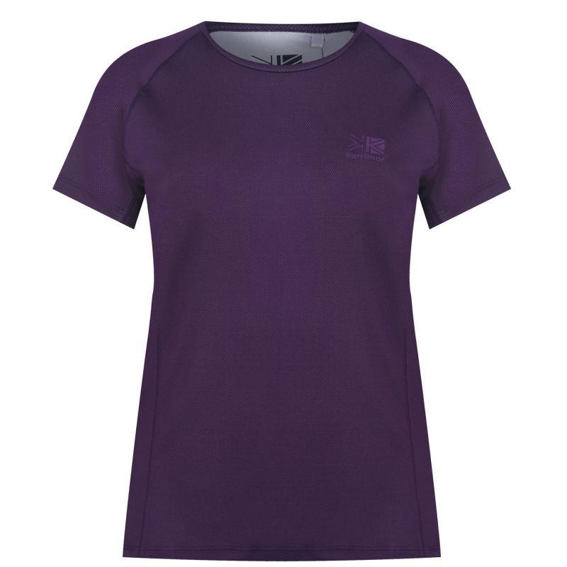 Karrimor Aspen Tech T Shirt Ladies Royal Purple