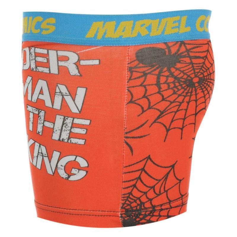 Spodní prádlo Marvel Spiderman Single Boxer Kids Red