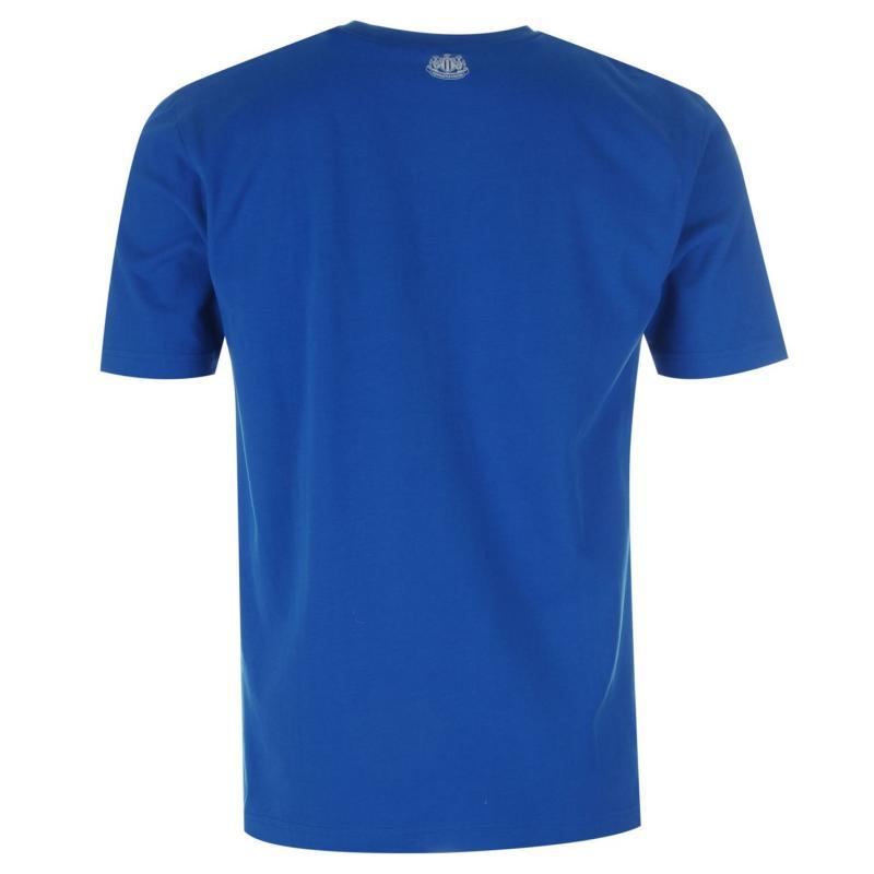 Tričko NUFC United Graphic T Shirt Mens Royal