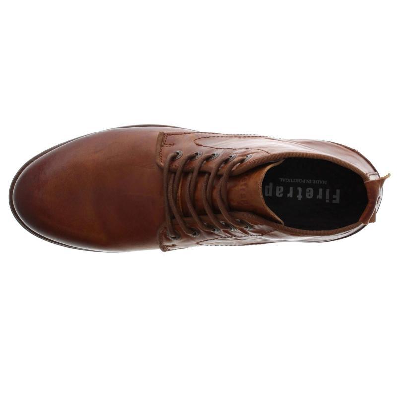 Boty Firetrap Casca Boots Dark Tan