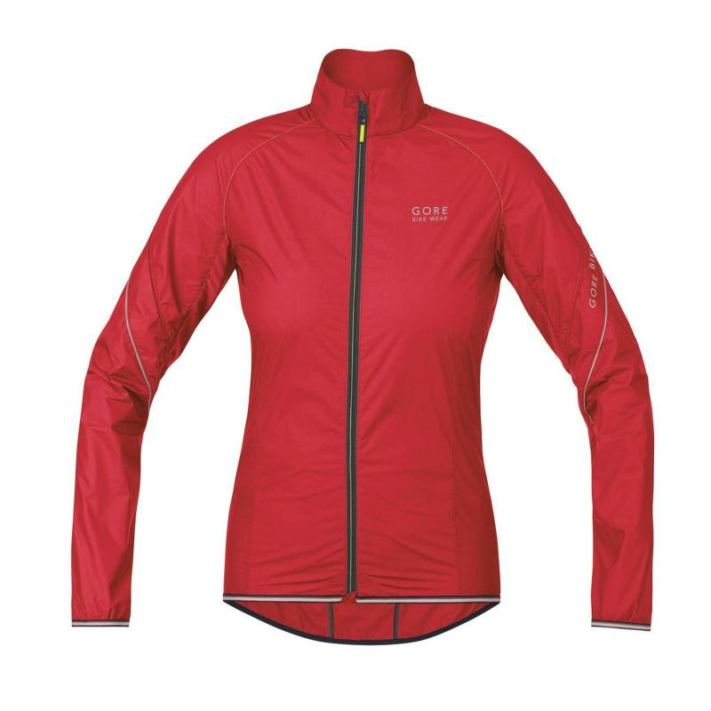 Gore Power WS AS 14 Ladies Cycle Jacket Red