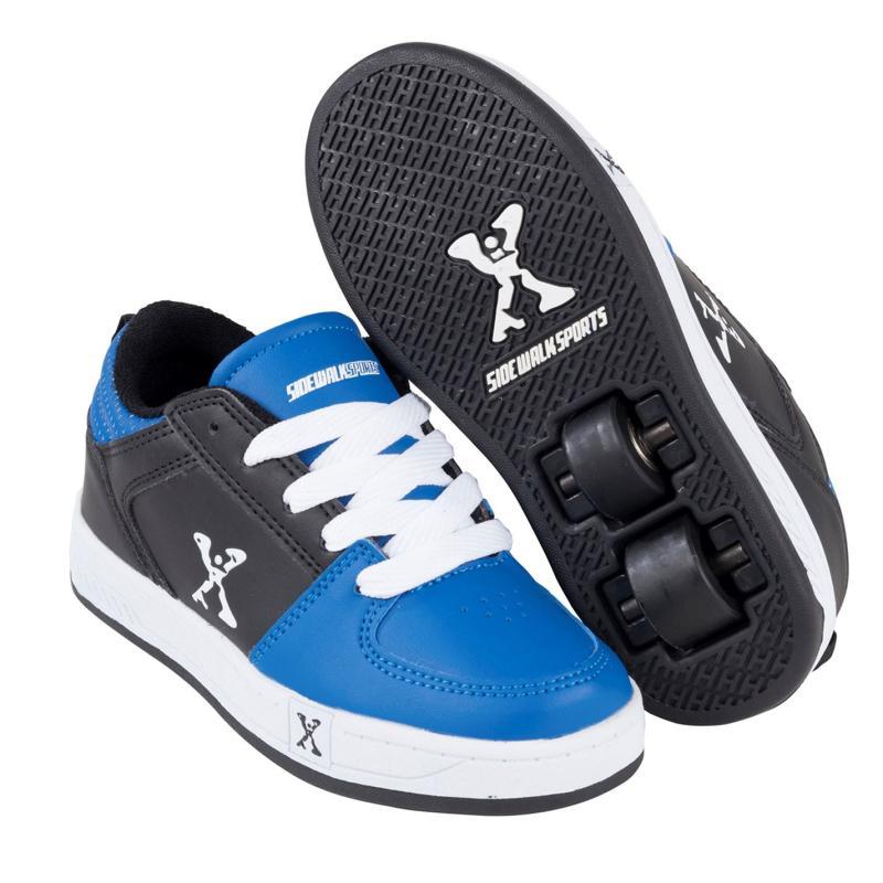 Boty Sidewalk Sport Street Junior Black/Blue
