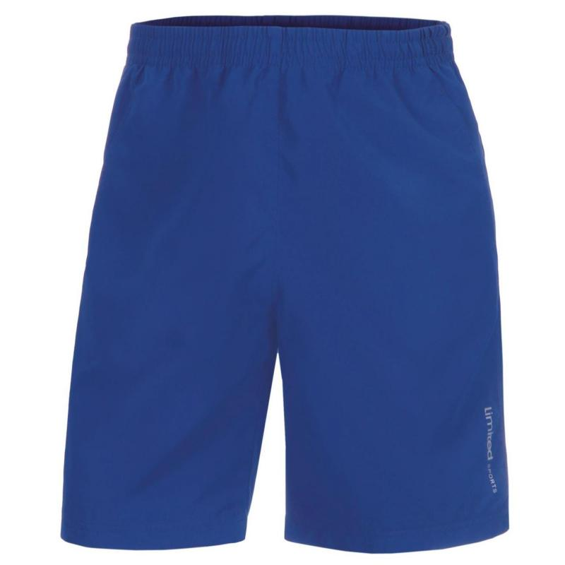 Limited Sports Mens Tennis Shorts Royal