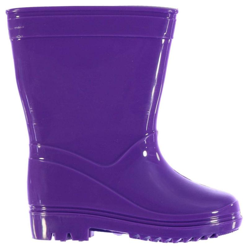 Crafted Essentials Wellies Infants Purple