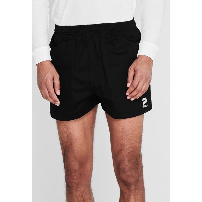 Patrick Rugby Shorts Mens Black