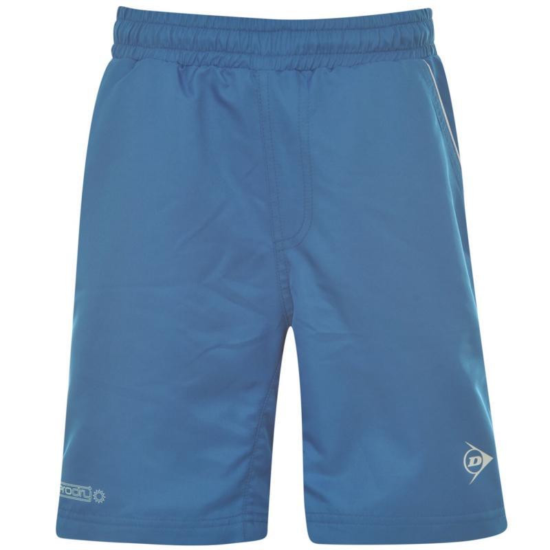 Kraťasy Dunlop Performance Tennis Shorts Junior Blue