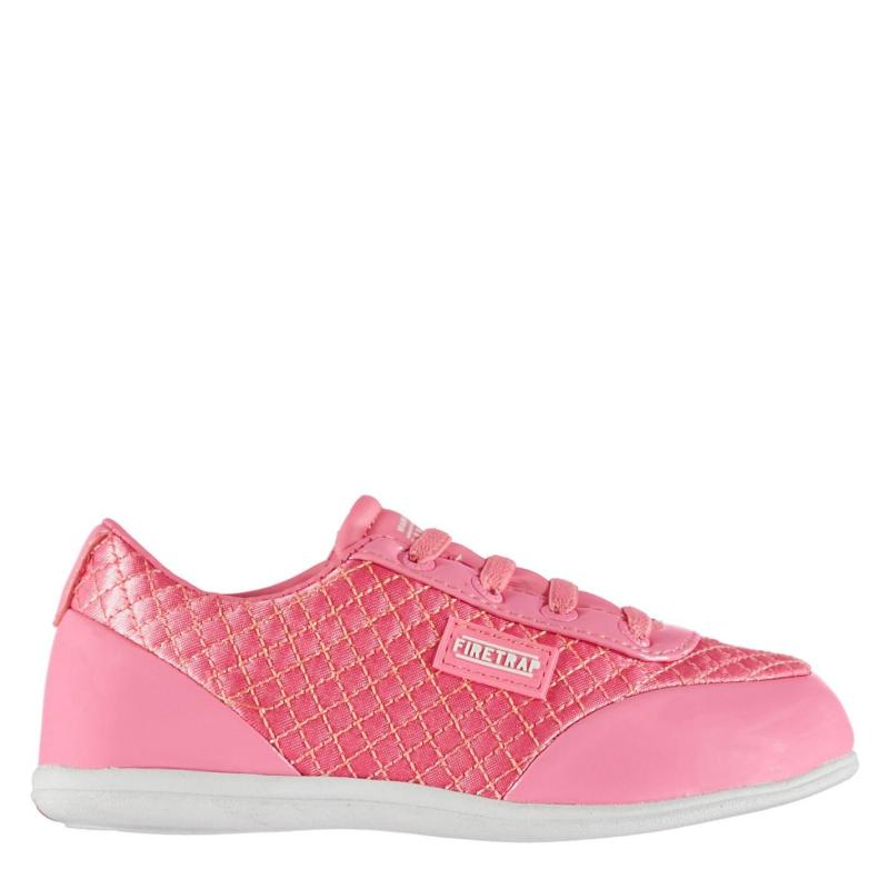 Boty Firetrap Dr Domello Infants Trainers Pink