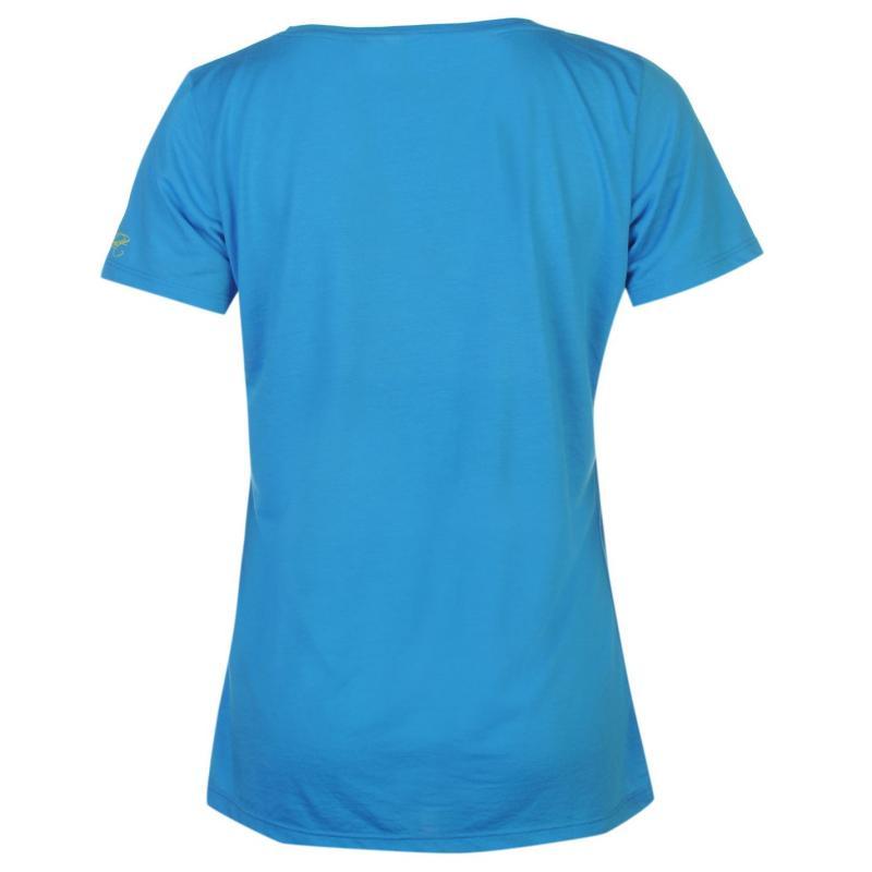 Millet Soft T Shirt Ladies Blue