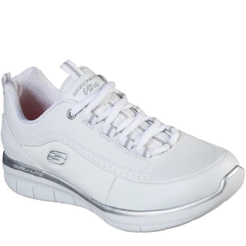 Skechers Status Ladies Trainers White