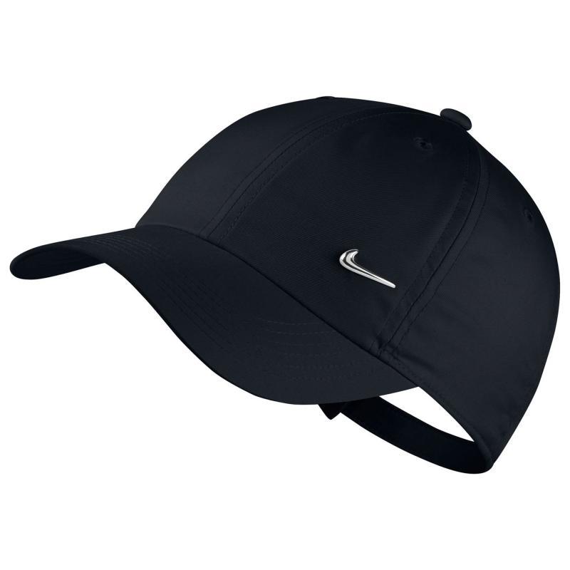 Nike Met Swoosh Cap Junior Black