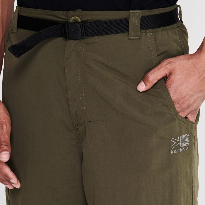 Karrimor Aspen Zip Off Trousers Mens Khaki