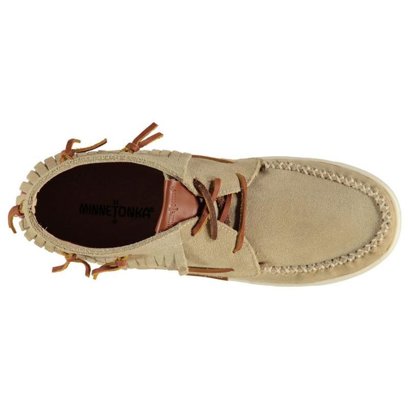 Minnetonka Pisa Ankle Boot Ladies Sand
