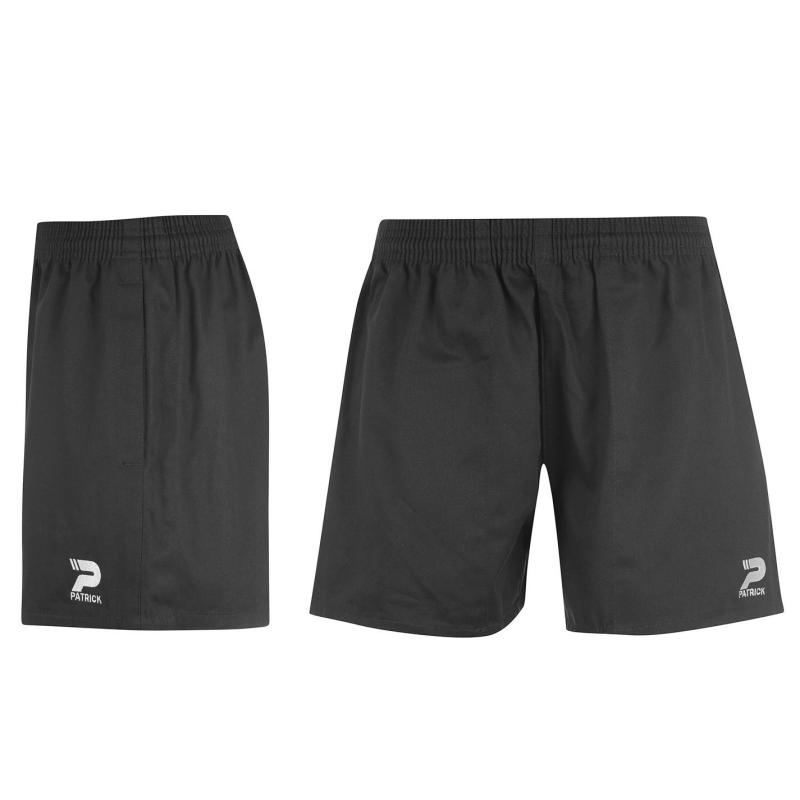 Kraťasy Patrick Rugby Shorts Junior Boys Black