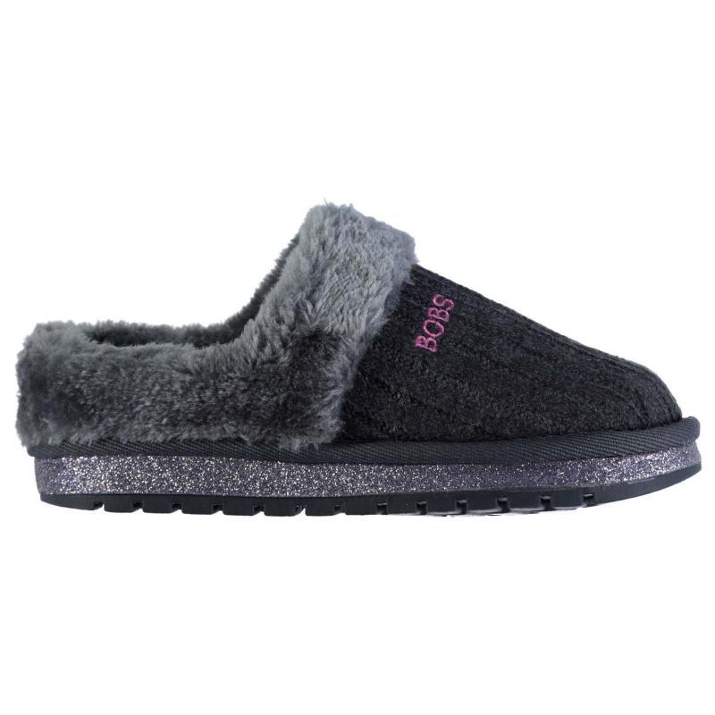 Skechers Keepsake Soft Lined Snug Boots Childrens Charcoal