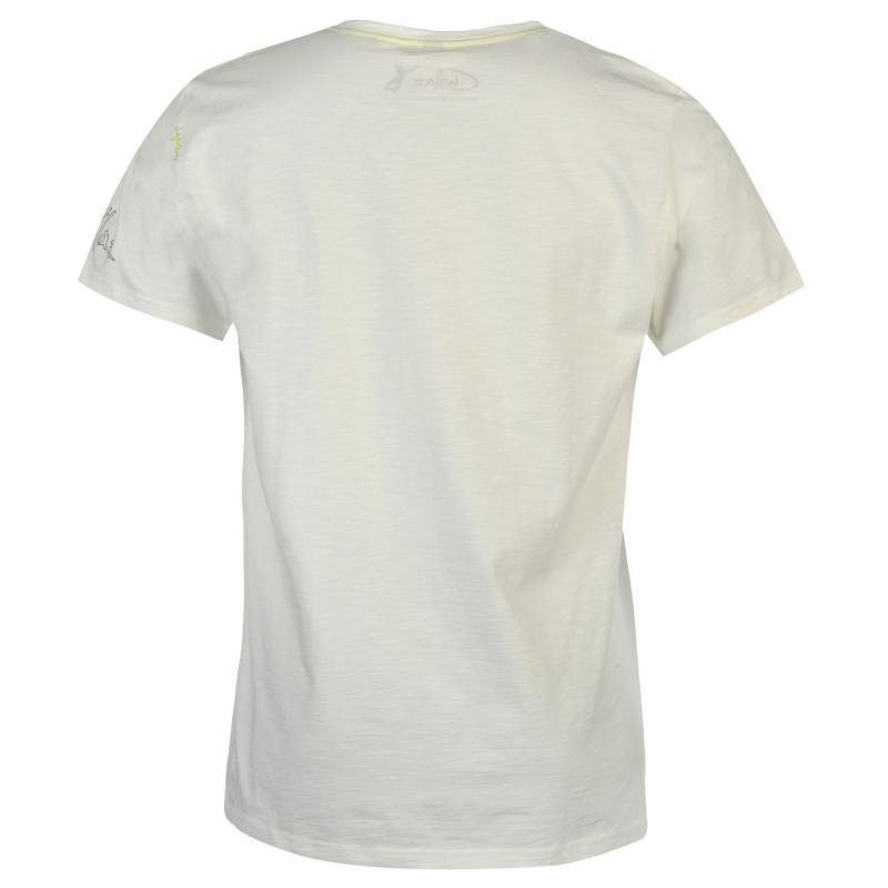 Tričko Chillaz Garfitti T Shirt Mens White