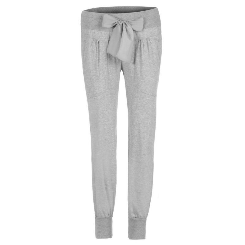 Sportovní kalhoty Deha Jersey Sweatpants Ladies Grey