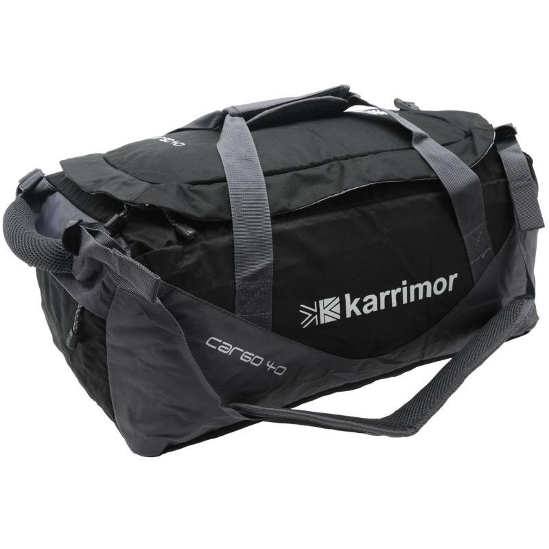 Karrimor Cargo 40 Bag Black/Cinder