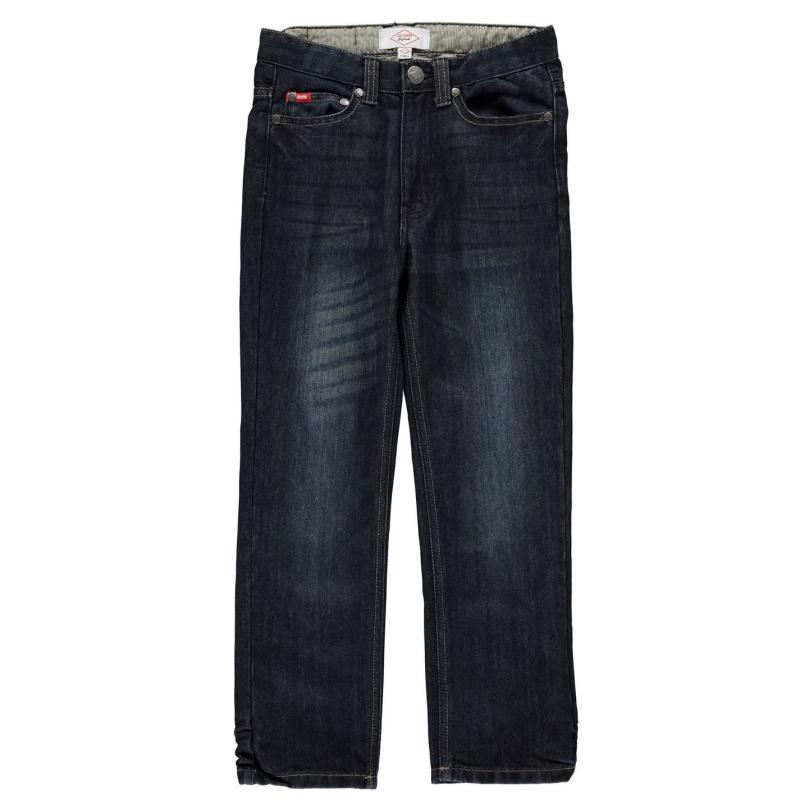 Kalhoty Lee Cooper Belted Jean Junior Dark Wash
