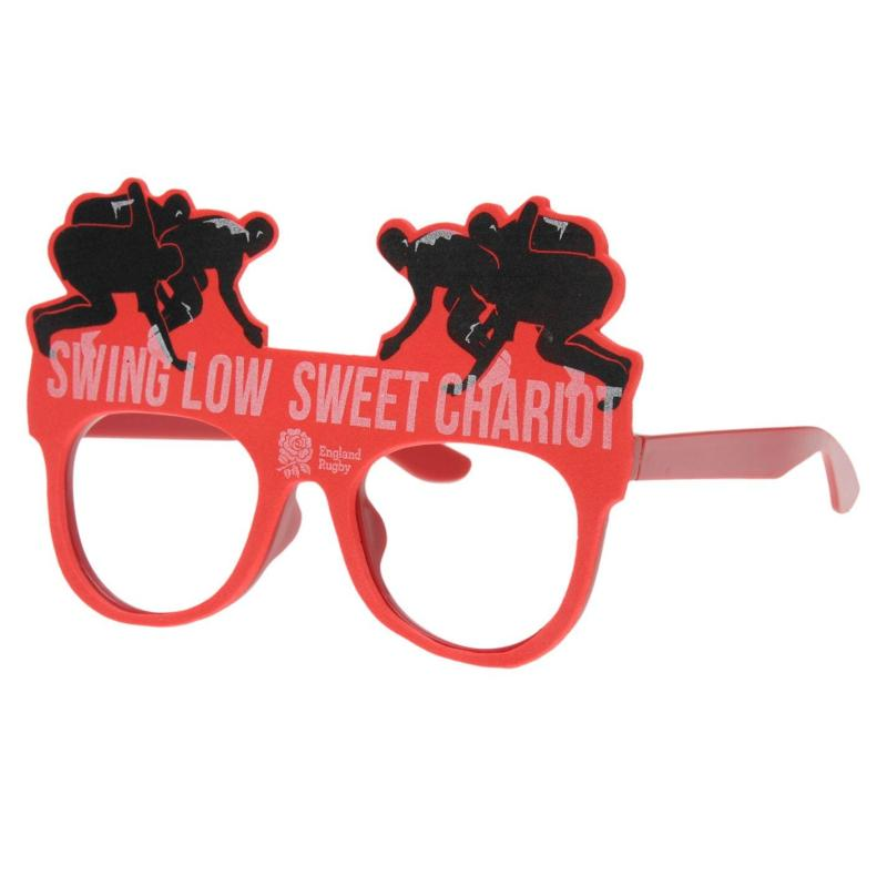 RFU Novelty Glasses Red