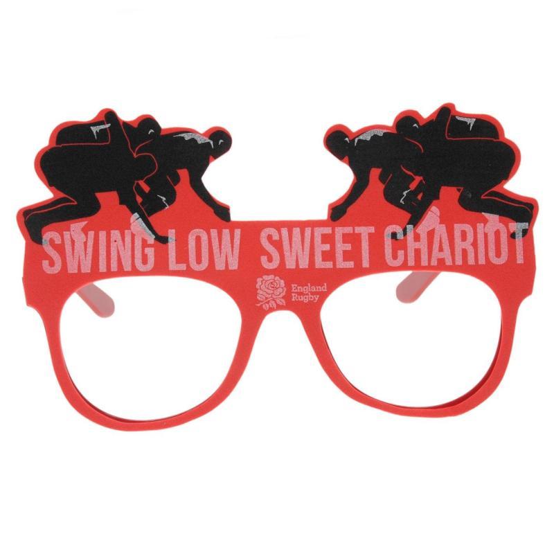 RFU Novelty Glasses Red