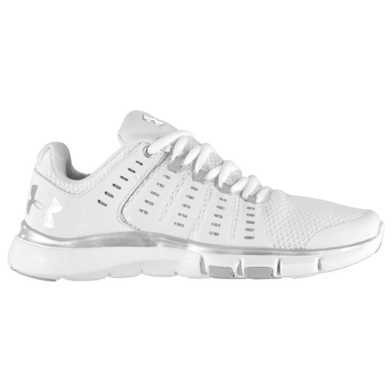 Under Armour Micro G Limitless Trainers Ladies White/Silver