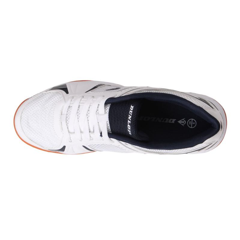 Dunlop Indoor Court Mens Shoes White/Navy