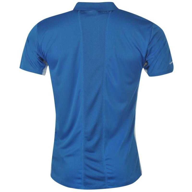 Dunlop Performance Polo Shirt Mens Blue
