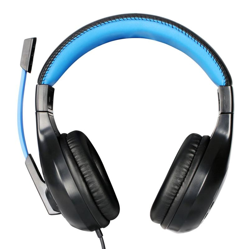 No Fear Gaming Headset Black/Blue