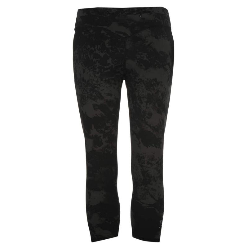 USA Pro Three Quarter Leggings Ladies Charcoal