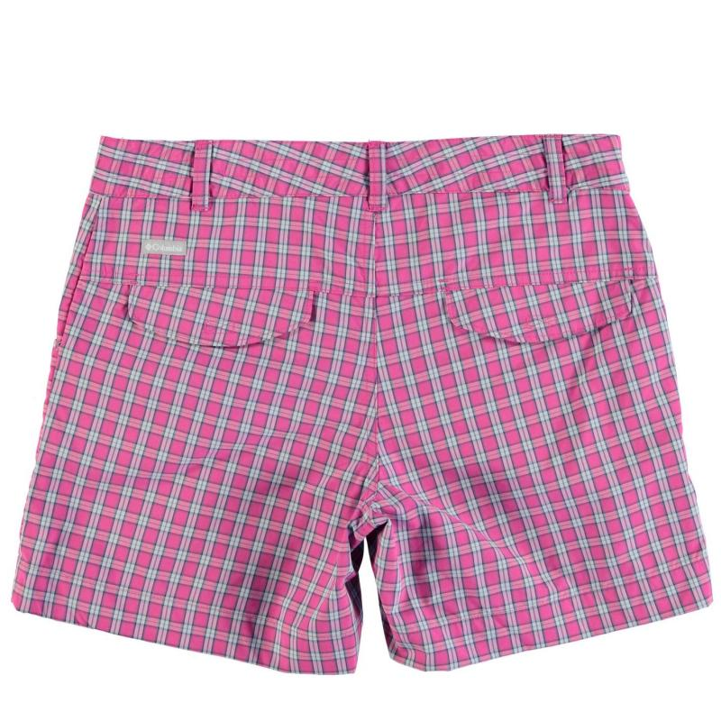 Columbia Silver Ridge Shorts Junior Girls Pink