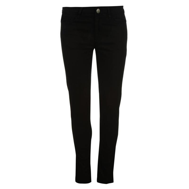 Kalhoty Kangol Chino Ladies Black