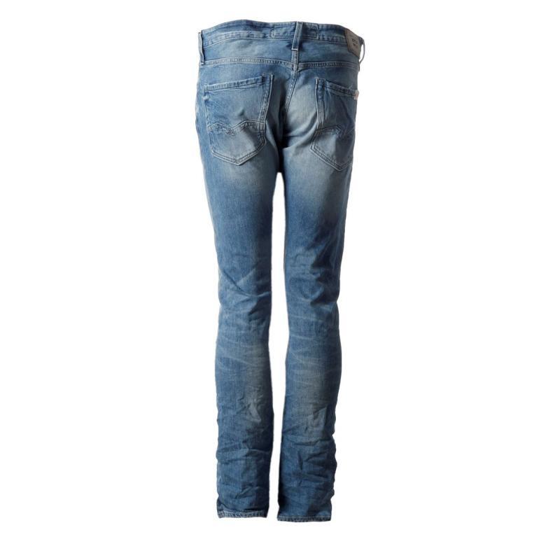 Replay Waitom Jeans Mens 010 Bluedenim