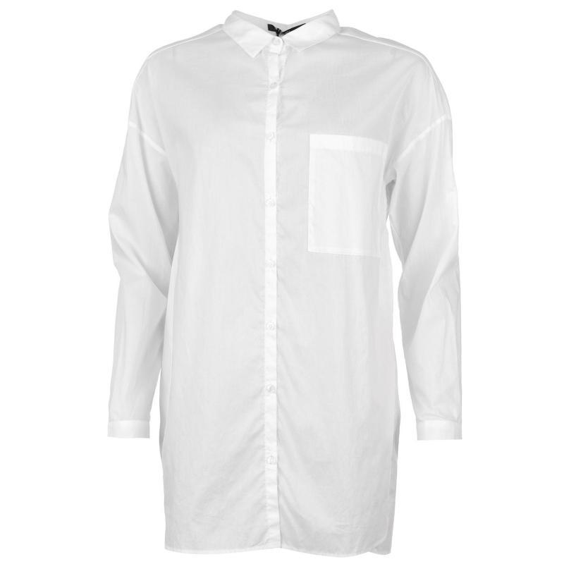 Košile Marc Aurel Shirt White 50000