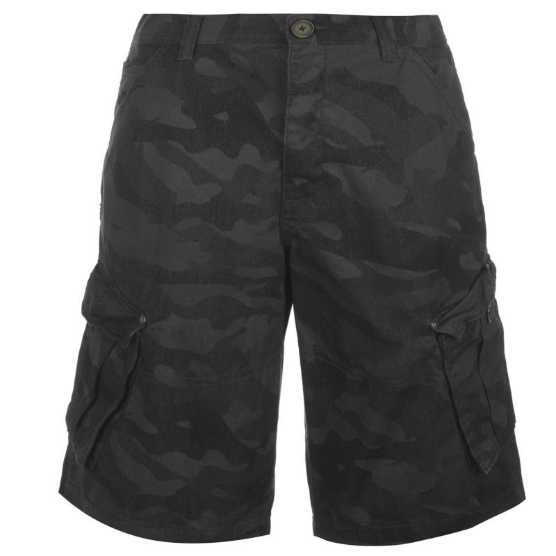 Firetrap BTK Shorts Mens Navy Camo