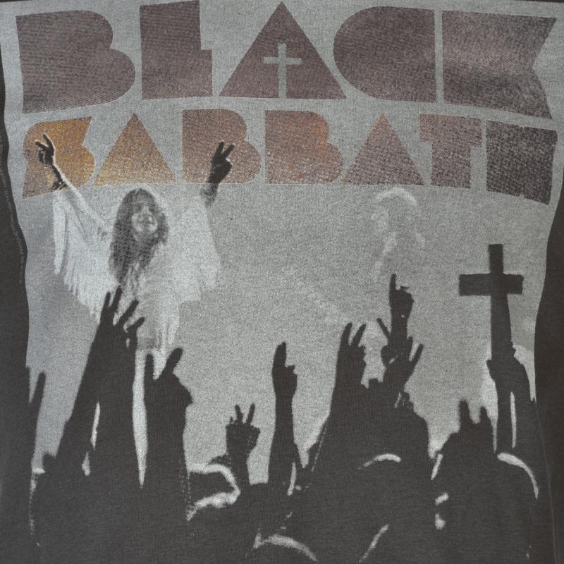 Tričko Amplified Clothing Black Sabbath T Shirt Mens Victory