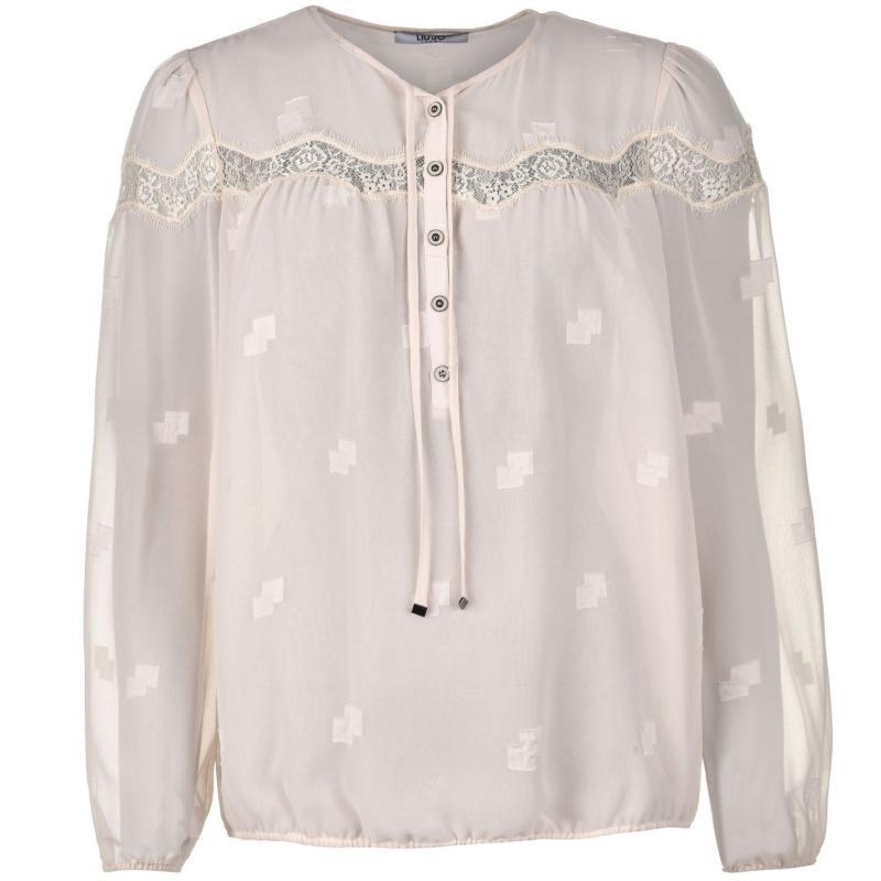 Košile Liu Jo Tunic Top Ladies 30002 Beige