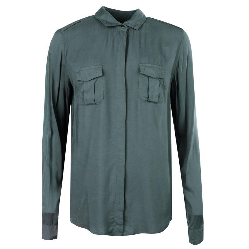 Košile Marc O Polo Shirt Ladies 406 light sage