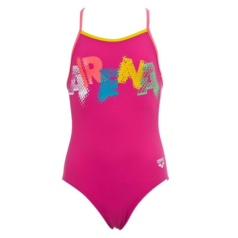 Arena Waterfeel Xlife Eco Swimsuit Girls Pink