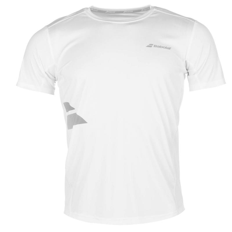 Tričko Babolat Match Tennis T Shirt Mens White