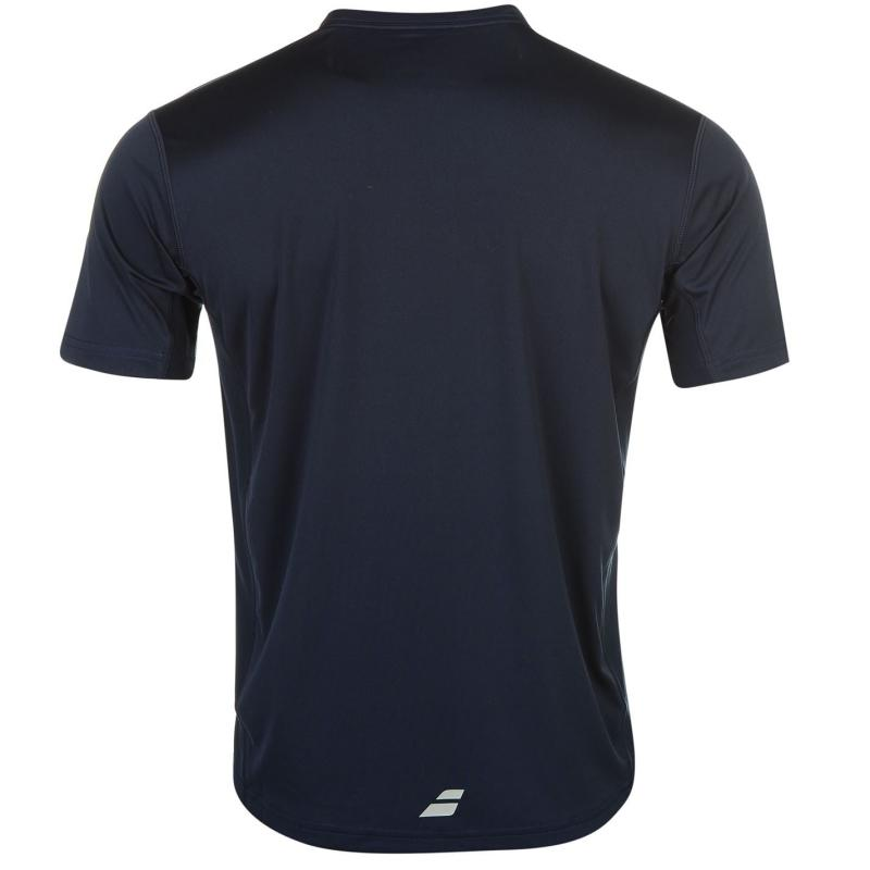 Tričko Babolat Match Tennis T Shirt Mens Navy
