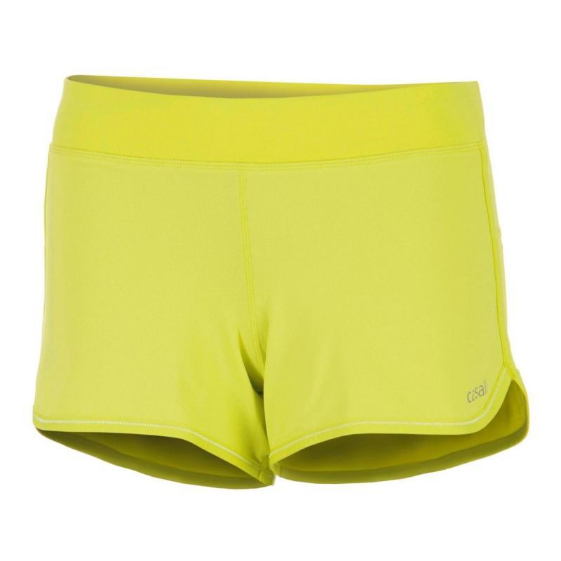 Casall Endurance Shorts Yellow
