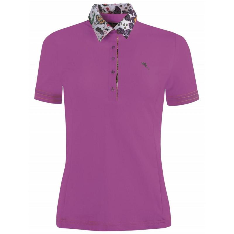 Polokošile Chervo Arise Golf Polo Shirt Ladies Violet/Multi